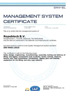 190731 CERTIFICATE ISO 9001 website